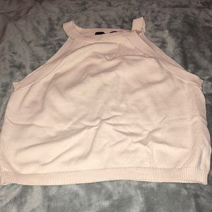 Crop sweater shirt
